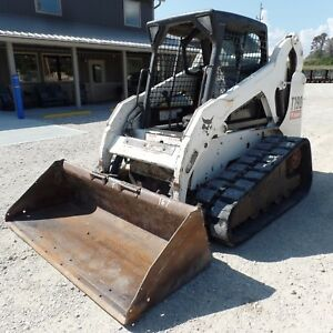 2007 Bobcat T190 Tracked Skidsteer Good Shape Video