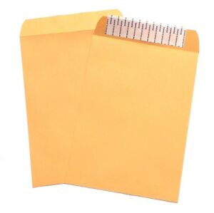 9 X 12 Brown Kraft Catalog Mailing Envelopes Self Seal Mailer Bulk 1000 lot