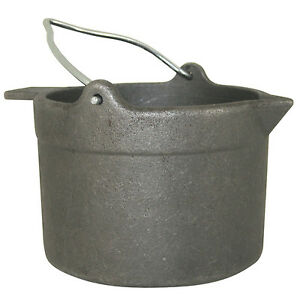 Reloading Cast Iron Lead Pot 10lb Alloy Melting Fishing Weight Hunting Equipment $52.47