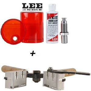 LEE 2 Cavity Mold for 38 Spl 357 Mag 38 S&W etc. & Sizing and Lube Kit #90316