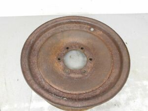 John Deere Unstyled A G Tractor 16 Inch Solid Dish Riveted Front Rim 8913