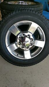 Chevy Silverado 2500 Hd Factory Wheels
