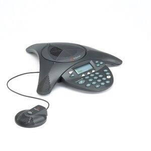 Polycom Soundstation 2 Expandable Conferencing Phone W 1x Mic No Wall Module