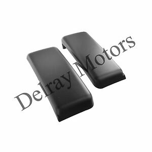 Front Bumper License Plate Delete Kit Covers Oem 2009 2014 Ford F 150 Brand New