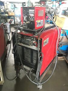 Lincoln Cv 400 Mig Welder With Ln7 Wire Feed