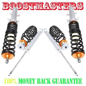 For 1998 2005 Vw Beetle Mkiv Mk4 Only Coilover Suspension Lowering Kit Gold
