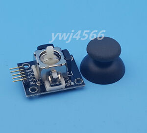 50pcs Black Ky 023 Ps2 Game Joystick Axis Sensor Module For Arduino Avr Pic