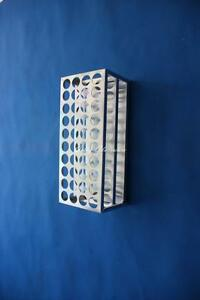 Test Tube Aluminum Stand holder Hole Diameter 18 5mm 30holes