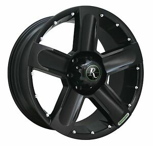 Remington Off road Wheels High Country 18x9 Rims 6x135 25mm All Black sale