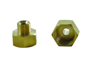 pack X50 Brass Hose Pipe Adapter Connector Female 1 2 X Male 1 4 Plumbing Part