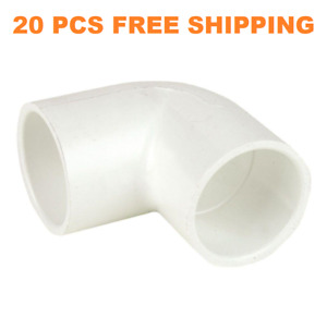 50 Pcs Dura 1 Schedule 40 Pvc 90 Degree Elbow Adapter Super Saver Pack