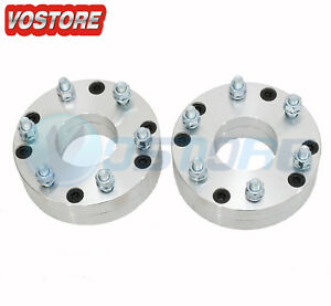 2 2 5x4 75 To 6x5 5 74mm Wheel Spacers Adapters Fits Chevrolet Silverado