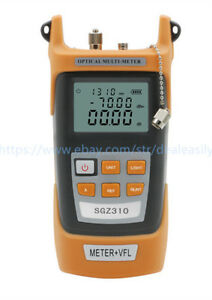 All in one Fiber Optic Power Meter 70 3dbm And 10mw 10km Visual Fault Locator