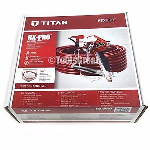 New Titan Rx pro Airless Paint Sprayer Gun And Hose Kit 0538022