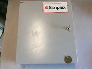Simplex Detection Systems Ds7400xi Panel Box Fire Alarm