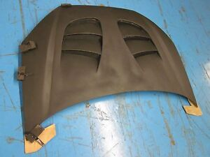 Type S Vented Fiberglass Hood For 00 04 Ford Focus Hood Kit Auto Body