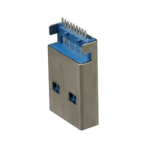 20pcs Usb 3 0 Type A Male 9pin Dip Smt Smd Pcb Solder Plug Connector