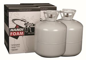 High Density Spray Foam Insulation Kit For Roof Patch Handi Foam 340 Bf 3 1 Lb