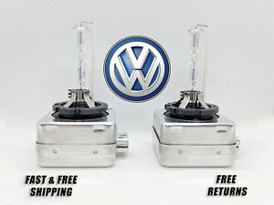 Front Hid Headlight Bulb For Vw Jetta 2013 2016 Low High Beam Stock Fit Qty 2