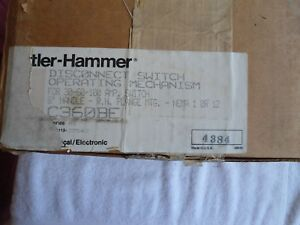 Nib Cutler Hammer Disconnect Switch 30 60 100 Amp C360be