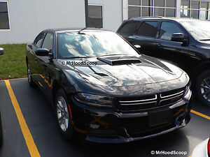 2006 2010 2015 2017 Hood Scoop For Dodge Charger By Mrhoodscoop Painted Hs005