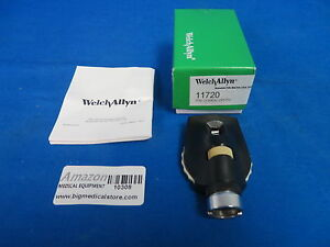 Welch Allyn 11720 Coaxial Ophthalmoscope Head 3 5v In Box With Manual Warranty