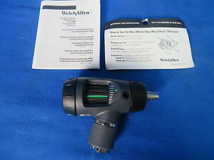 Welch Allyn 23810 Macroview Otoscope With Manual 90 Day Warranty