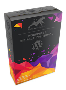 Wordpress Installation Service Space05 Hosting Panther software
