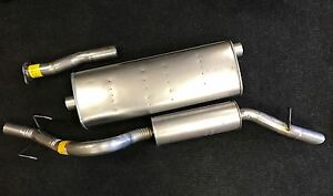 2005 2008 Chevrolet Uplander Fwd Muffler And Tail Pipe Catback System 121 Wb
