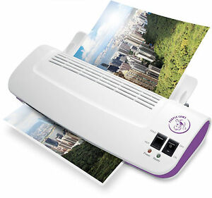 Thermal Laminator Machine Warm 100 Pack Laminating Pouches Sheets Hot And Cold