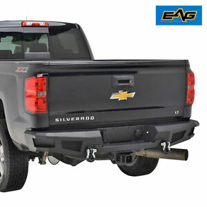 Eag 15 17 Chevy Silverado 2500 gmc Sierra 2500 Step Rear Bumper Heavy Duty
