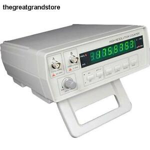 Victor Precision Frequency Counter Digital Rf Meter Channel Temperature Circuit
