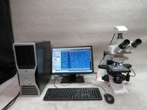 Leica Dm2000 Laboratory Microscope With Dfc295 Camera Pc 4 4 Software