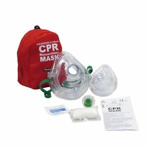 5 Wnl Cpr Mask Soft Case W gloves Adult Child And Separate Mask For Infants