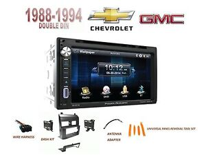 Chevy Gmc Suv Full Size Trucks 1988 1994 Car Stereo Kit Bluetooth Touchscreen