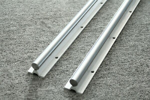 L1000mm Shaft Dia Linear Bearing Support Rail 2pcs Sbr16 1000 Cnc Linear Motion