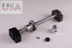 Sfu1605 Ball Screw L300mm bkbf12 End Machined With Br Coupler