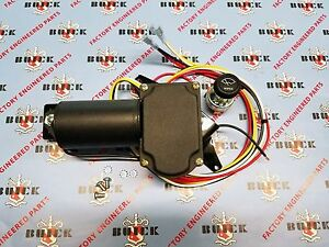 1957 Buick Oldsmobile Electric Wiper Motor Kit 12v Replacement Made In Usa
