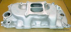 Weiand 7505 Action plus Intake Bb Chevy rect Port Dual Plane 4150 Flange