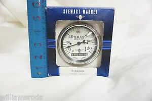 Stewart Warner 0 120 Speedo Rat Rod Parts Street Rod Vintage Car