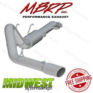 Mbrp 4 Catback Single Side Exit Exhaust For 2017 Ford F250 F350 6 2l Crew Cab