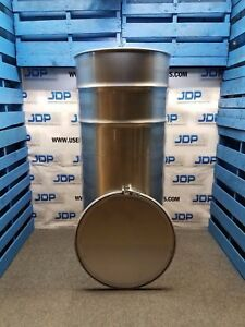 210 Gallon 304 New Stainless Steel Open Head Barrel Crevice Free 1 5mm