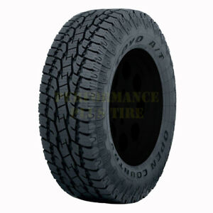 Toyo Open Country At Ii Lt265 70r17 121 118s 10 Ply quantity Of 2