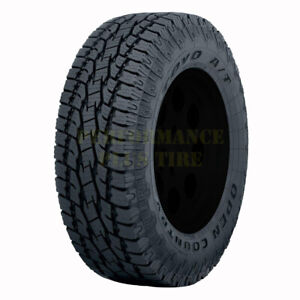 Toyo Open Country At Ii Lt255 80r17 121 118r 10 Ply Quantity Of 4