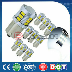 10 super Bright White 5730 1156 1141 1073 18 smd Led Bulbs With Projector 1