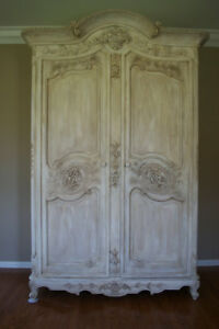 Antique Armoire Louis Xv Armoire Cabinet French Armoire Wardrobe