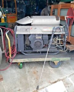 Alkota 4355eb Kerosene Powered Steam Portable Pressure Washer Kohler Gas Engine