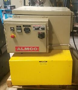 Almco Vb 1615 Vibratory Finishing Polyeurethane Lined Tub 1 6 C f A1 Liner