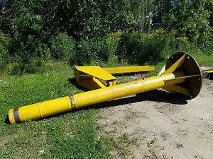 Abell howe 1 Ton 360 Jib Crane 10 Under Arm 76 Travel Manual Hoist No Trolley