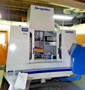 Bostomatic Bd32gs Cnc Vmc W 17 x40 Table 25 000 Rpm X 8 Hp High Speed Spindle